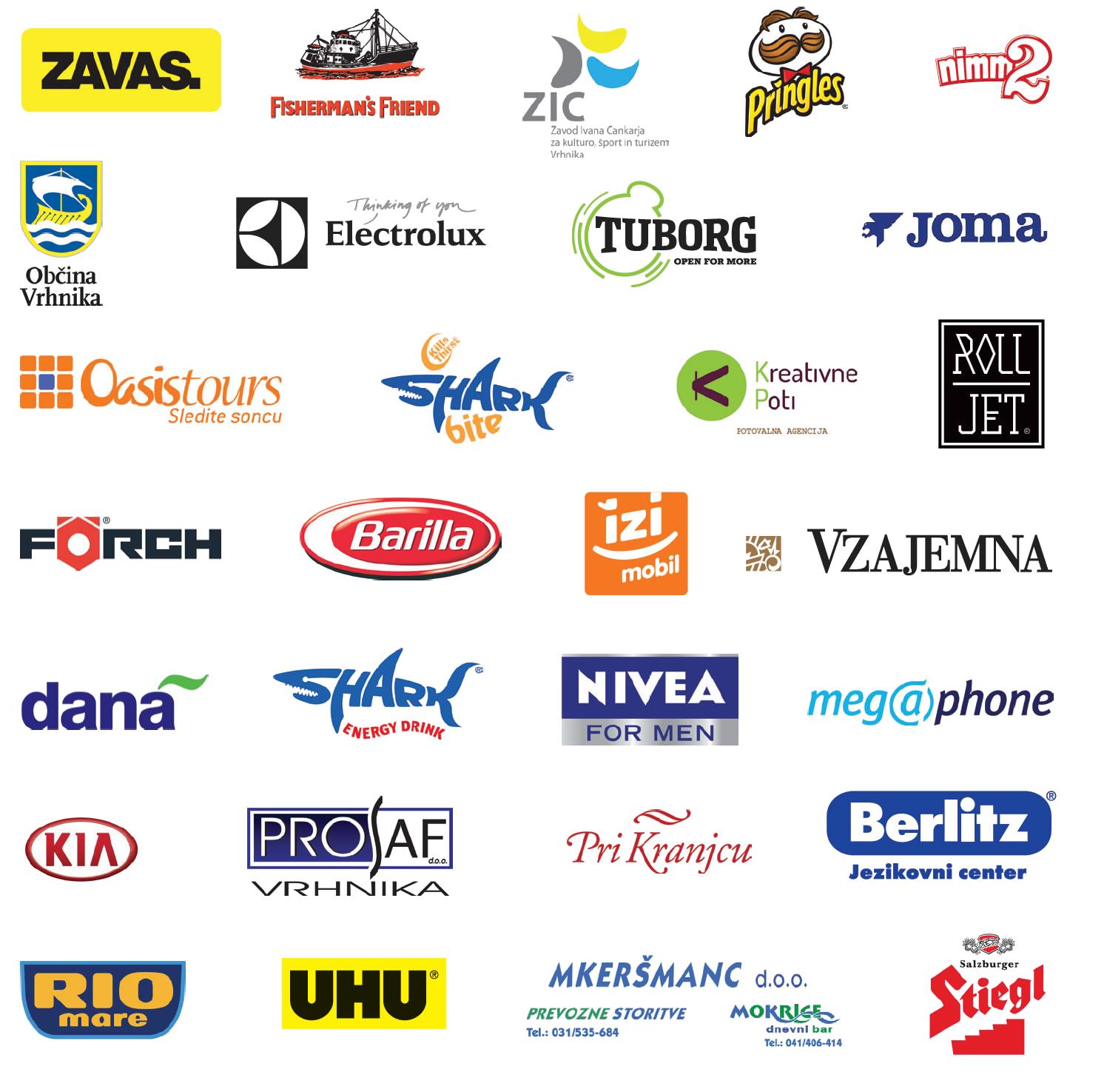 Sponzorji 2014